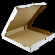 Коробка под пиццу толстый картон 300х300х40 (пачка по 50шт)